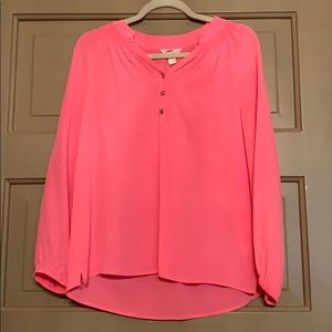 Lilly Pulitzer Elsa Hot Pink Top